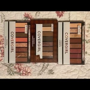 4 pk cover girl eyes shadow palettes